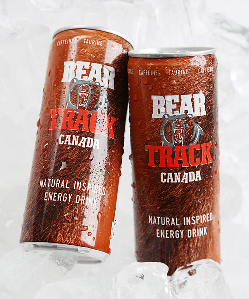 Energy Drink Can in Ice Bucket – Bear Track Canada – Made in Germany